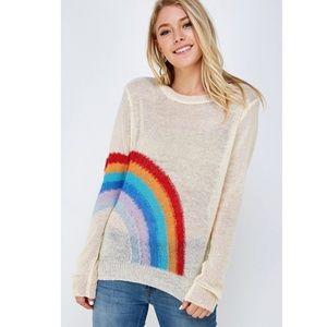 Rainbow 🌈 Sweater Sizes Small Medium Large